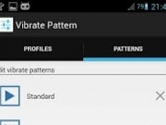 Custom Vibrate Pattern SMS 1.5 Screenshot
