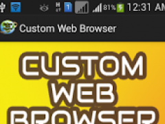 Custom Web Browser -User Agent 1.0 Screenshot