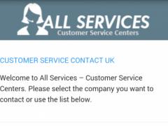 Customer Service UK 1.0.2 Screenshot