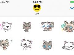 Cute Anime Cat Stickers! 1.0 Screenshot