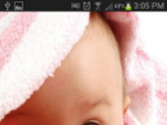 Cute Babies HD Live Wallpaper 2.0 Screenshot