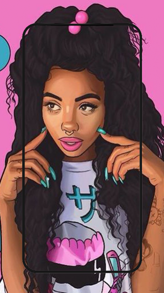 Cute Black Girls Wallpaper Melanin 1 3 Free Download