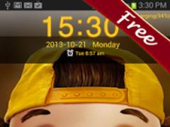 Cute Boy HD Go Locker Theme 1.9 Screenshot