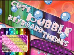Cute Bubble Keyboard Themes 1.0 Screenshot
