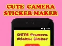 Cute Camera Sticker Maker 1.2 Screenshot