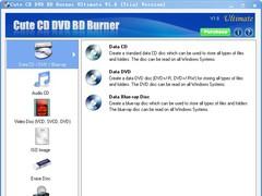 Cute CD DVD BD Burner Professional 2.2.7 Screenshot