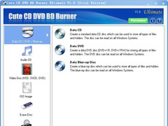 Cute CD DVD BD Burner Ultimate 2.2.5 Screenshot