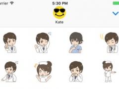 Cute Doctor! New Stickers! 1.0 Screenshot