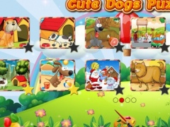 Cute Dogs Jigsaw Puzzles for Kids and Toddlers - Preschool Learning by Tiltan Games 1.0.3 Screenshot