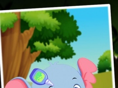cute elephants - Take care for your cute virtual animal - care & dress up kids game 4.0 Screenshot