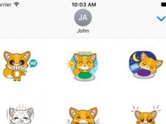 Cute Fox Sticker For iMessages 1.0 Screenshot