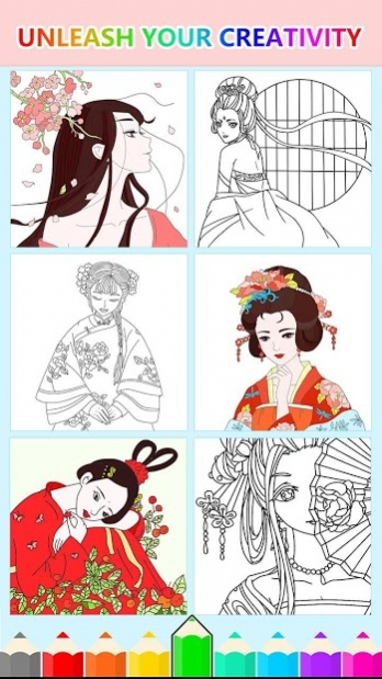 Cute Girl Coloring Pages Anxiety Free Download