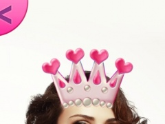 Cute Girly Photo Sticker.s: Beauty Camera and Art Picture.s Makeover Editor 1.0 Screenshot