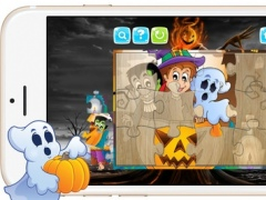 Cute Halloween Jigsaw Puzzle Games for Toddlers 1.0.0 Screenshot