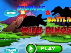 Cute Hunter Dino Run for Kids 1.0 Screenshot