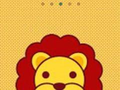 Cute Lion GO LauncherEX Theme 1.0 Screenshot