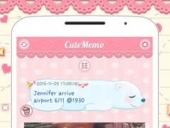 Cute Memo: Cloud Sticky Notes 1.2.0 Screenshot