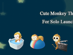 Cute Monkey Theme 1.0.1 Screenshot