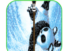 Cute Panda Zipper Screen Lock 1.0 Screenshot