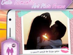 Cute Romantic Art Photo Frames 2.0 Screenshot