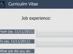 CV (Curriculum Vitae) by DVG 1.2 Screenshot