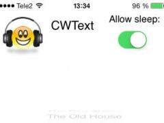 CWText 1.10 Screenshot