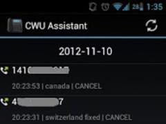 CWU Assistant 1.0.0 Screenshot