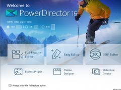 CyberLink PowerDirector 15 Screenshot