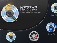 CyberPower Disc Creator 9.7.3 Screenshot