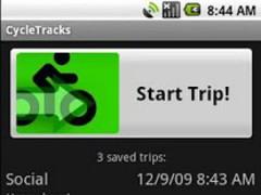 CycleTracks 1.03 Screenshot
