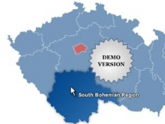 Czech Republic Map Locator 3.6 Screenshot