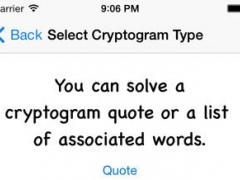 D Crypt Pro Word Game 2.1 Screenshot