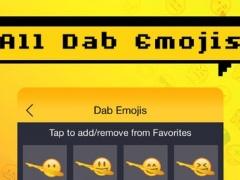 Dab Emoji - Special Dab Emojis & Emoticons Keyboar 1.2 Screenshot