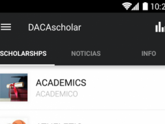 DACA Scholars 3.2.1 Screenshot