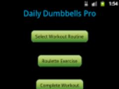 Daily Dumbbells Pro 1.0 Screenshot