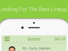 Daily Fantasy Basketball Lineup Optimizer Free - Optimal Lineups For Fanduel 1.0 Screenshot