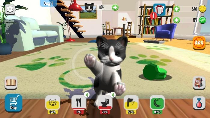 Daily Kitten: Virtual Cat Pet