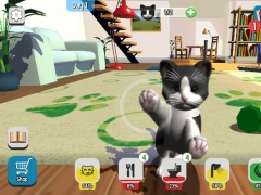Review Screenshot - A Great App to get a Virtual Cat Pet