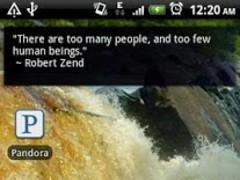 Daily Quote Widget 2.2 Screenshot