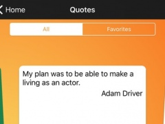 Daily Quotes - Adam Driver Version 1.0 Screenshot