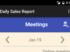 Daily Sales Report 1.5 Screenshot