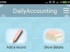 DailyAccounting 2.3 Screenshot