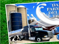 Dairy Farm Milk Delivery Truck 1.0 Screenshot