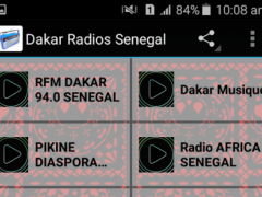 Dakar Radios Senegal 1.0 Screenshot