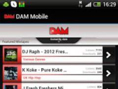 DAM Mobile 1.0 Screenshot