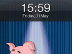 Dancing Pig Live Locker Theme 1.0 Screenshot