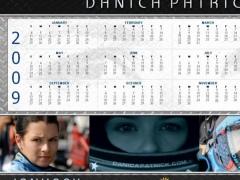 Danica Patrick 2009 Calendar for Windows 1.3.9.507 Screenshot