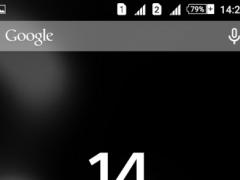 Dark Delight Xperien Theme 1.0.4 Screenshot
