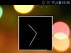 Dark Round Theme Go/Nova/Apex 1.7 Screenshot