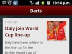 Darts News 1.3.1.59 Screenshot